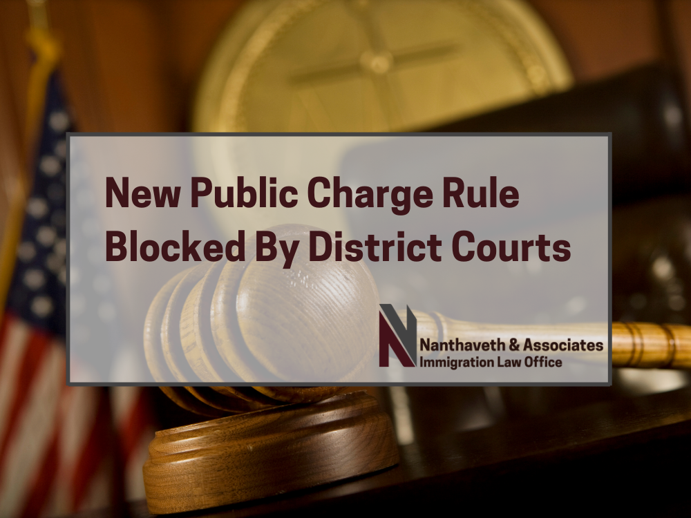Trump Administration Public Charge Rule Blocked By District Courts Before Implementation