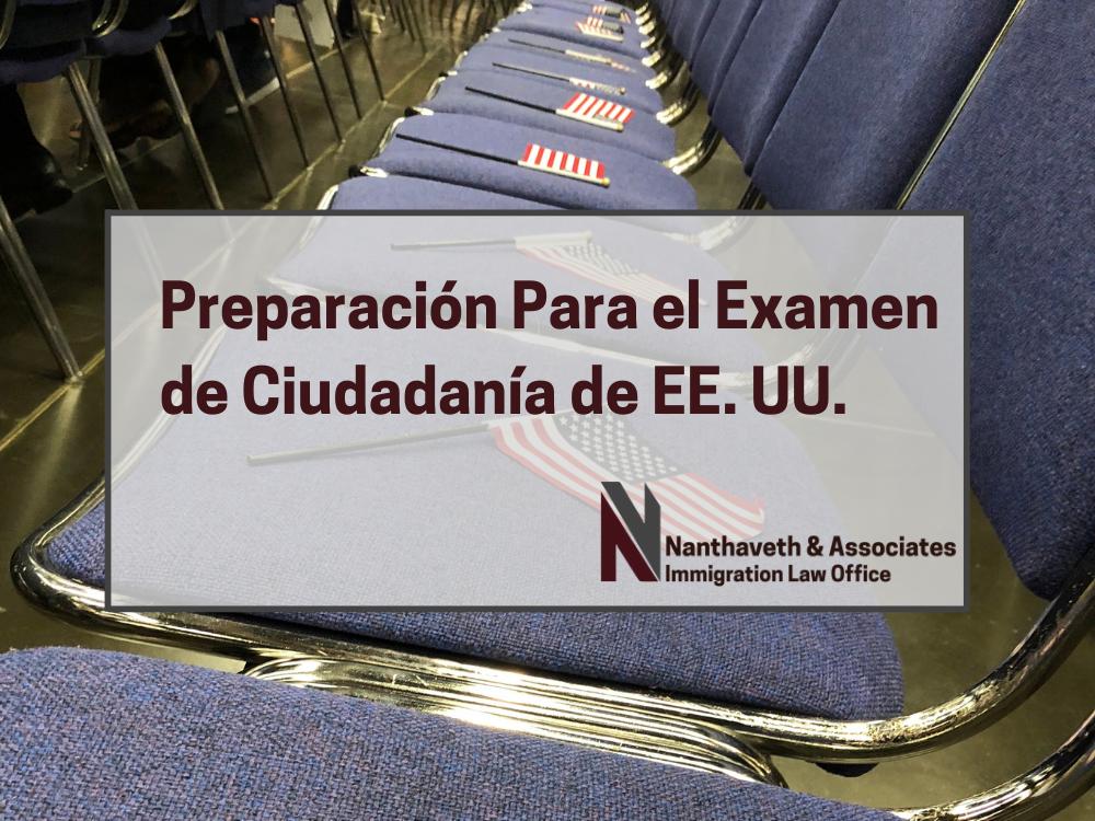 Preparación Para el Examen de Ciudadanía de EE. UU.