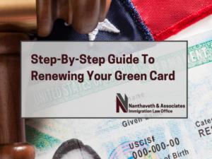 Renewing Green Card Banner